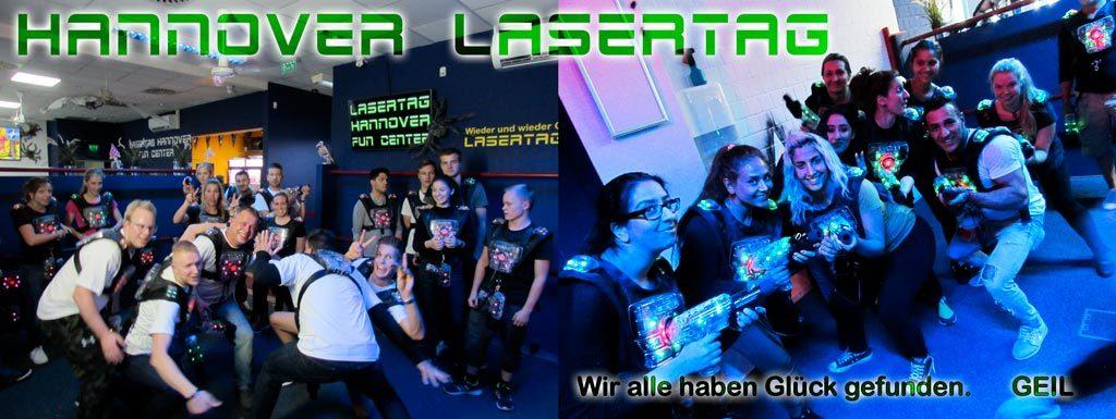 Lasertag spielen für Gruppen in Hannover