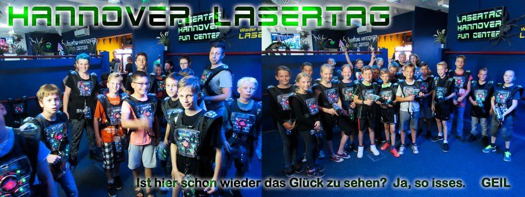 Gruppen und Familien bei Hannover Lasertag in Laatzen