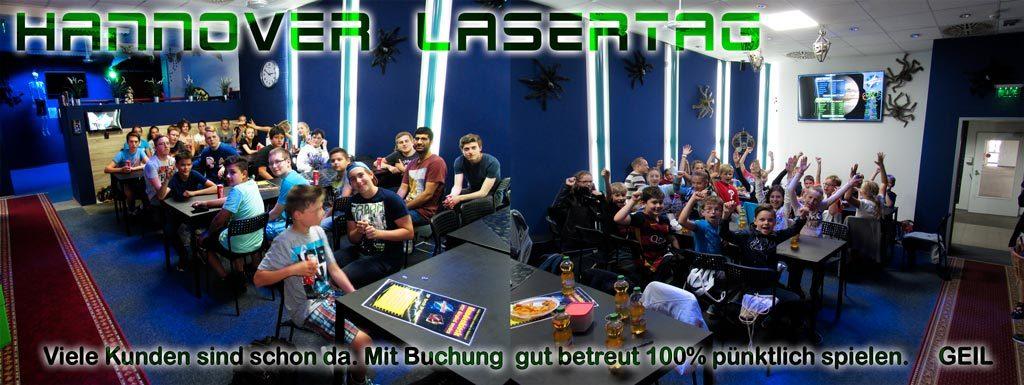 Lasertag spielen mit Garantie!