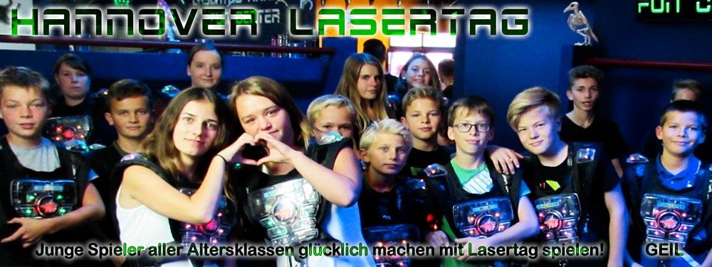 Lasertag Hannover ab welchem Alter