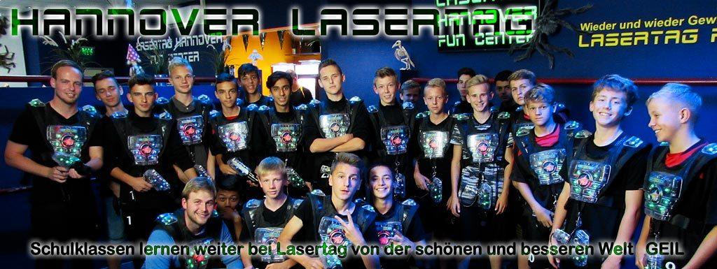 Spielt Lasertag als Klassenfahrt