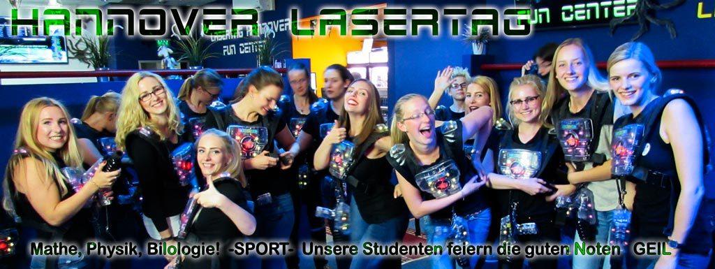 Spielt Lasertag in Hannover