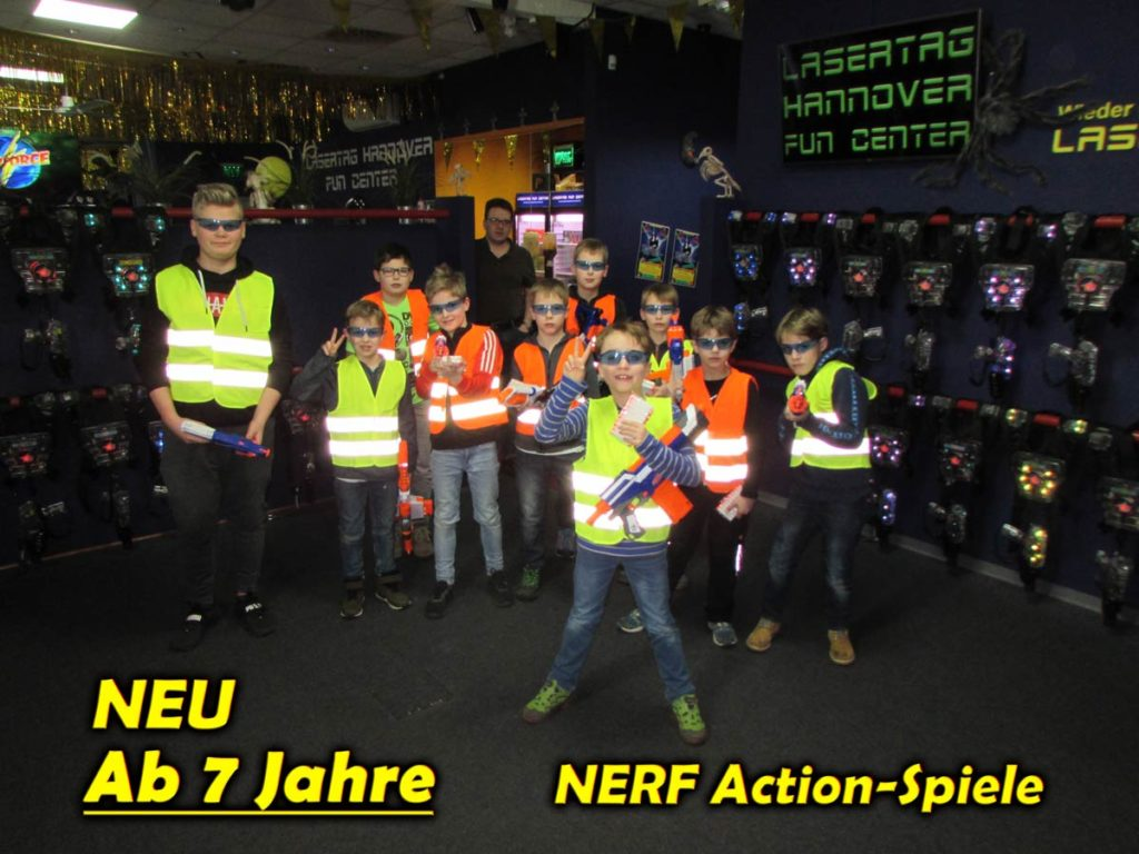 Nerf Schlacht Action-Spiele